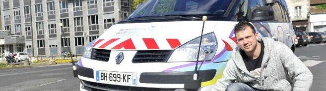 Un véhicule qui détecte les fuites de gaz